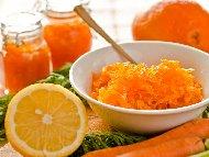Рецепта Конфитюр от моркови в бурканчета (зимнина)